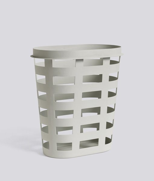 Laundry Basket L grey